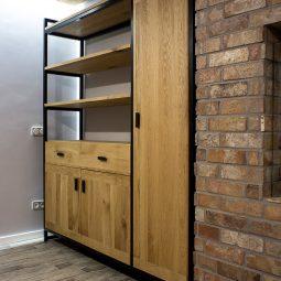 Zamówienia indywidualne na meble z drewna i metalu | DKM Design